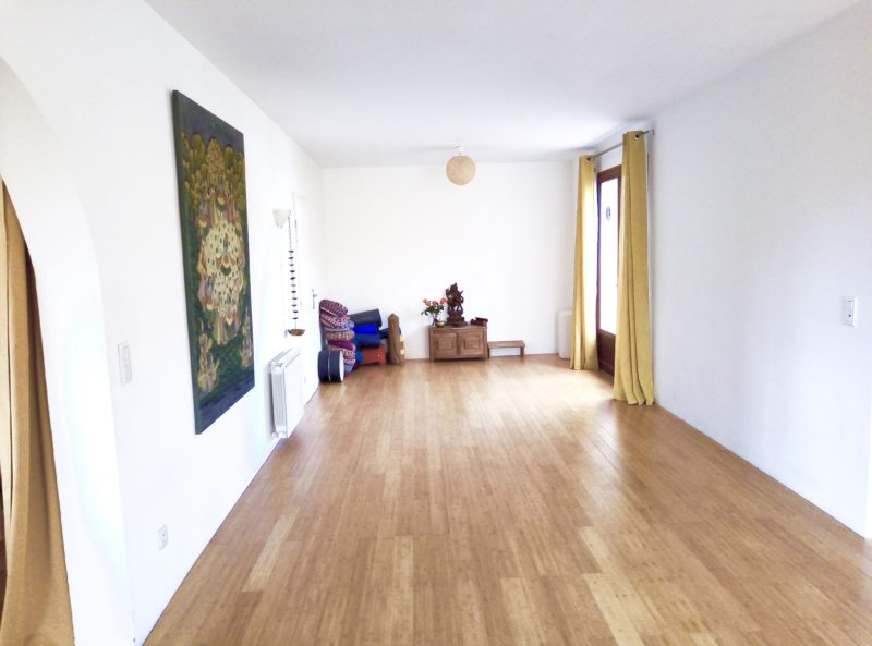 Salle yoga / Bibliothèque